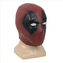 Deadpool Mask Cosplay Movie Halloween Full Head Face Latex Winston Cosplay Costume Props Party Masks Helmet Adult halloween props deadpool mask eco friendly resin cosplay party mask full face 11 6 7 inch