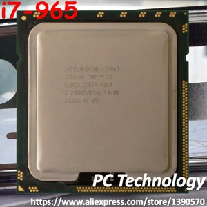 Original Intel Core i7-965 Processor Extreme Edition I7 965 3.20GHZ 4-Core 8M Cache LGA1366 CPU 130W free shipping
