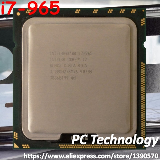 Original intel core i7 965 processor extreme edition i7 965 3. 20.