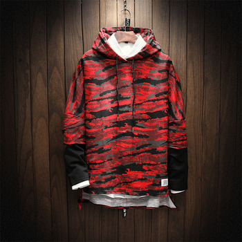 Camouflage Men Hooded Sweatshirt