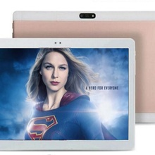 DHL Free 10 inch 3G Tablet PC Octa core 4GB RAM 128GB ROM Dual SIM Card cameras IPS GPS 1280*800 Android 7.0 phoneTablets 10.1