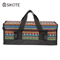 SIKOTE Foil Ice Pack Basket Bags Heat Preservation Lunch Bag Cold Outside Picnic Warm Insulation Packs Environmental Health