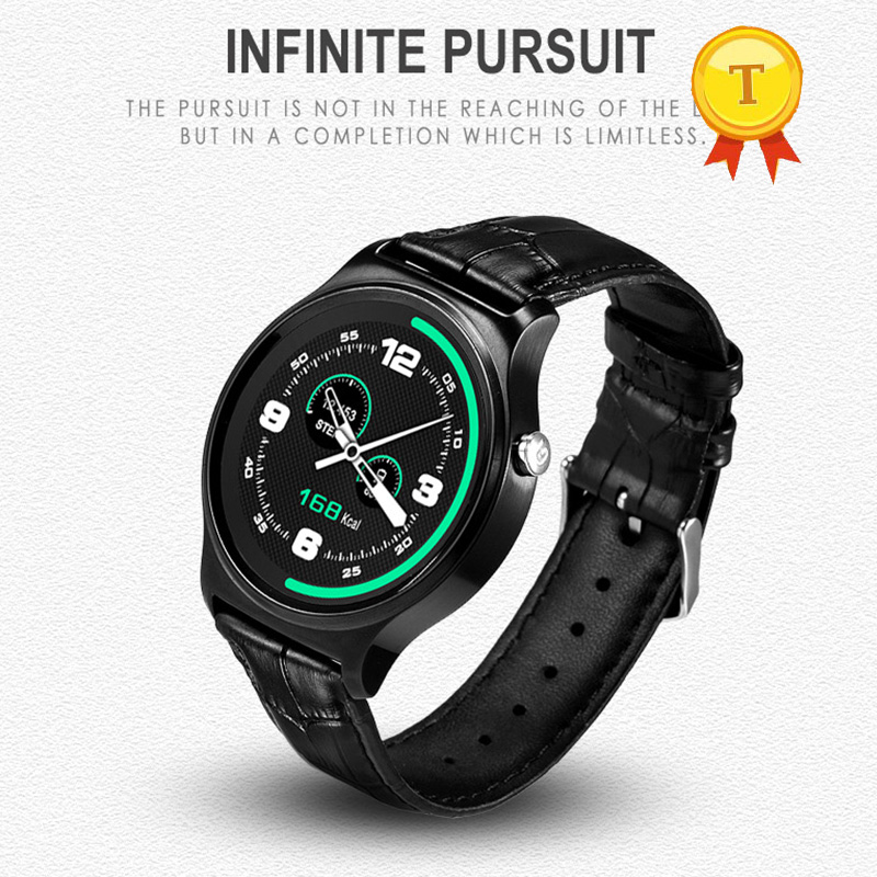 round Smart Watch with Sleep Monitor Sedentary Pedometer Message Sync Call Heart Rate Remote Control phone watch for ios android-in Smart Watches from Consumer Electronics    3