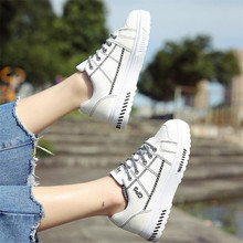New casual platform womens shoes spring and autumn fashion thick bottom women sneakers