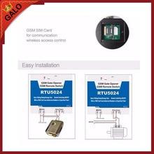 200 users RTU5024 GSM Garage Swing sliding Gate door Opener Relay Switch Remote Access Control Wireless Door Opener недорого