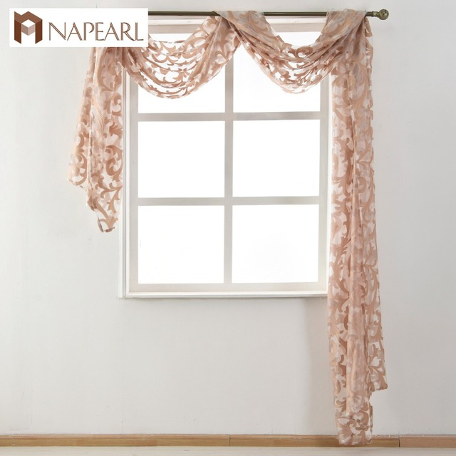 sheer valances window treatments european style sheer valance waterfall organza tulle fabrics white black beige window treatment home decoration textile
