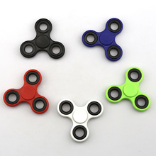 Plastic fidgets hand spinner for autism keeps hands busy