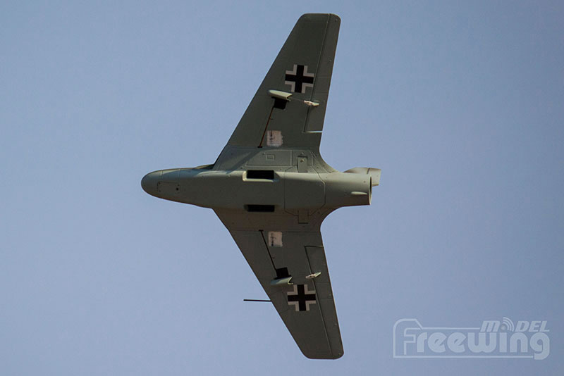 Freewing avião 64 milímetros EDF Lippisch P15