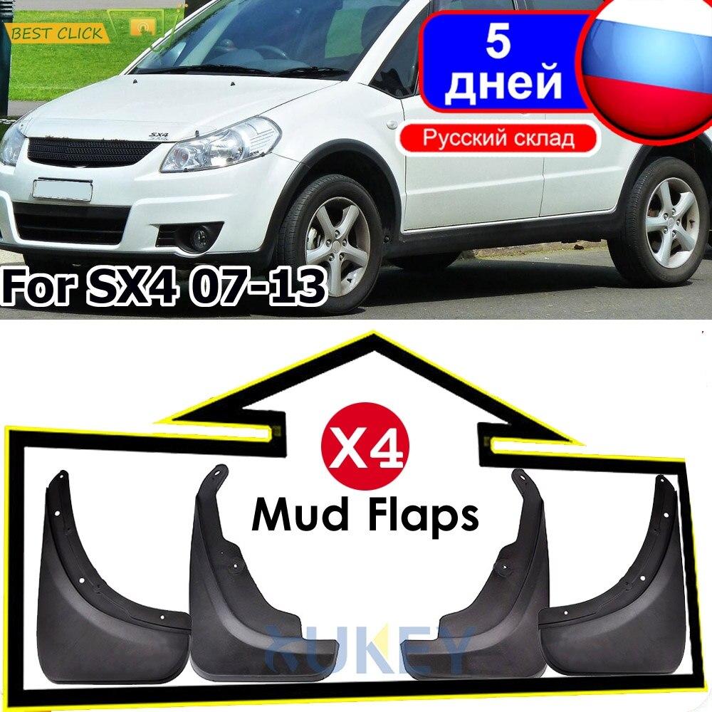 For Suzuki Alto 2009 2010 2011 2012 Car Mud Flaps Splash Guards Fender Mudguards