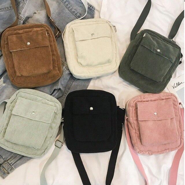 Women Shoulder Bag Korean Version Fashion Polyester Student Crossbody Messenger Bags Ladies Handbag Crossbody Bags For Women