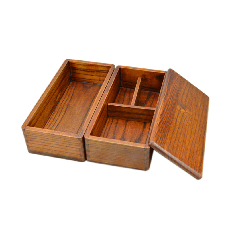 Japanese Double Deck Wood bento Boxes Wooden Bento Boxes Student shu Food Container For Food-in Dinnerware Sets from Home u0026 Garden on Aliexpress.com ...  sc 1 st  AliExpress.com & Japanese Double Deck Wood bento Boxes Wooden Bento Boxes Student ... Aboutintivar.Com