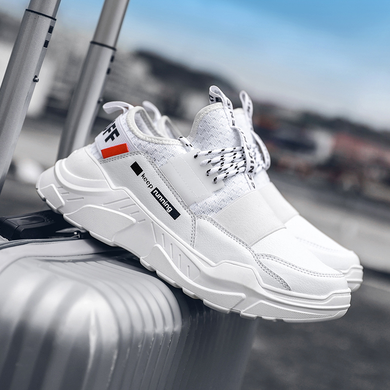 Luxury Brand Running Shoes Men Light Sneakers Outdoor Breathable Air Athletic Trainers Male Sport Man Four Seasons Shoes Hombre