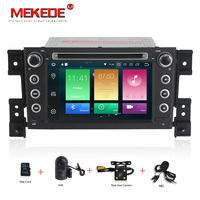 MEKEDE Android 8.0 car DVD octa Core 4GB RAM 32GB rom with IPS screen multimedia player for SUZUKI GRAND VITARA 2005 2012 gps