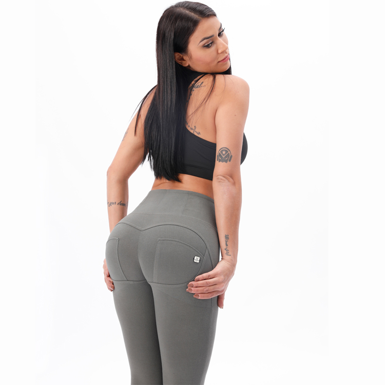 126b4e59c AK's hand sex shaping pants high waist fleece lined workout leggings faux  leather yoga pants bum shaping in stock forever-in Yoga Pants from Sports  ...