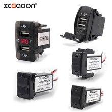 XCGaoon специальный выделенный 2 USB Интерфейс гнездо автомобильного Зарядное устройство для TOYOTA/HONDA/MITSUBISHI/NISSAN/MAZDA/ SUZUKI