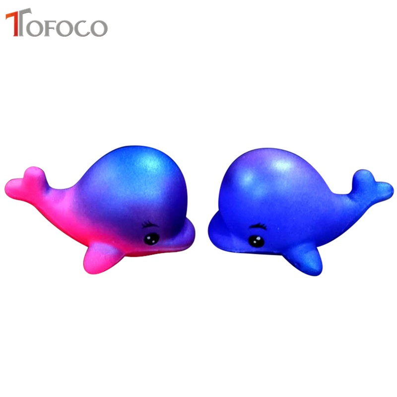 Cellphones & Telecommunications Mobile Phone Accessories Funny 1pcs Kawaii Cute Dolphin Squeeze Squishy Animal Slow Rising Scented Bread Cake Kid Toy Gift 10cm Random Color