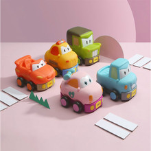 2019 New Children Electric Cartoon 40m Remote Control Car with Music Baby