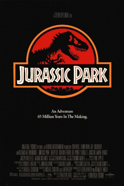 Jurassic Park Posters Print Glossy Silk Fabric Cloth Wall