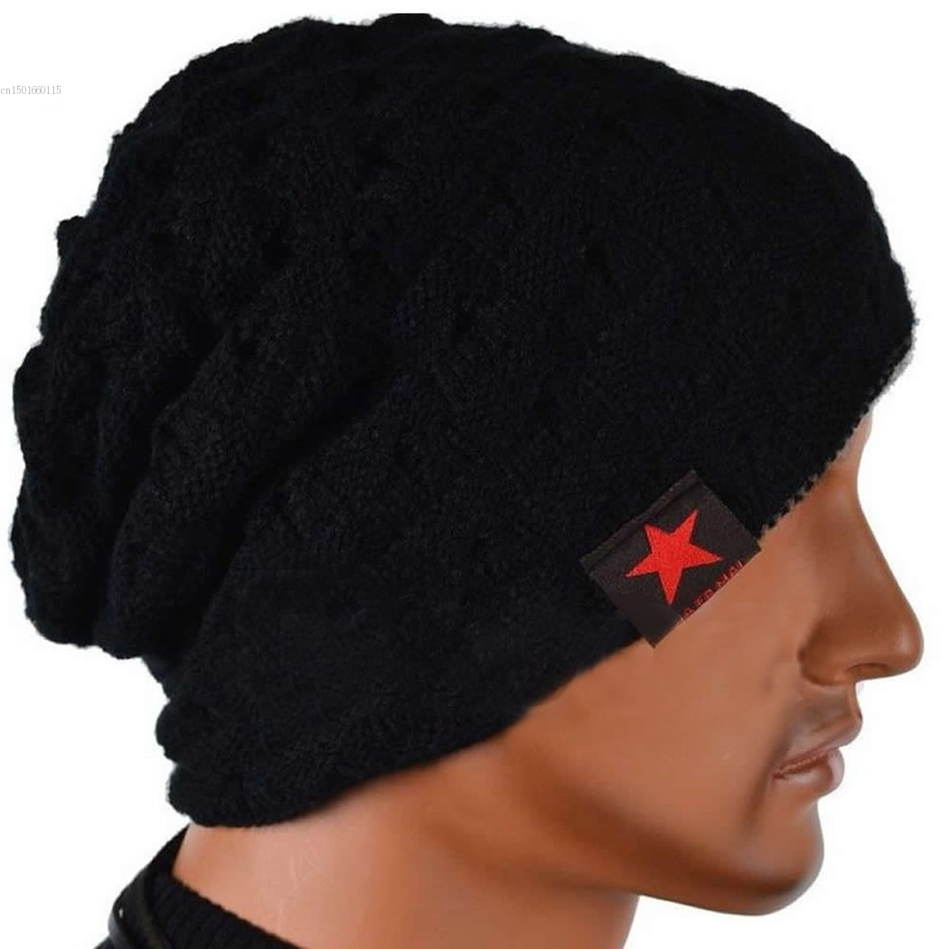 Unisex Beanie Autumn Winter Wool Hat Knit Warm Hat Oversized Ski Cap  European Style 7 Colors Wholesale 41 3585e73d0dc