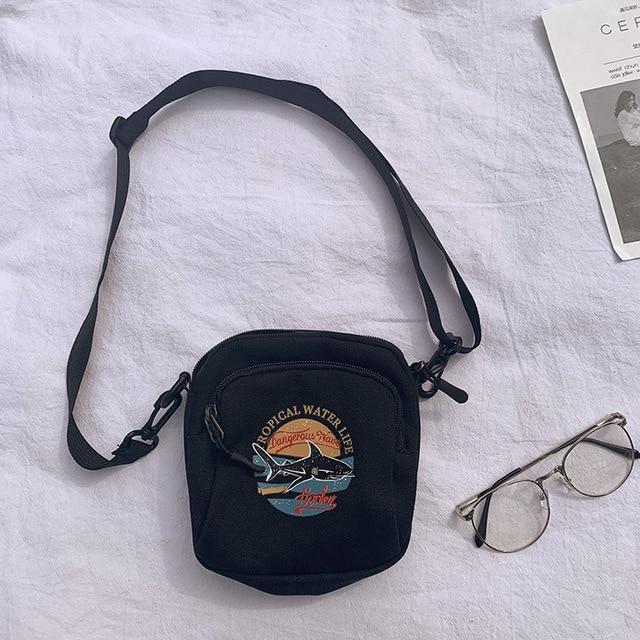 Women Canvas Handbags Mini...