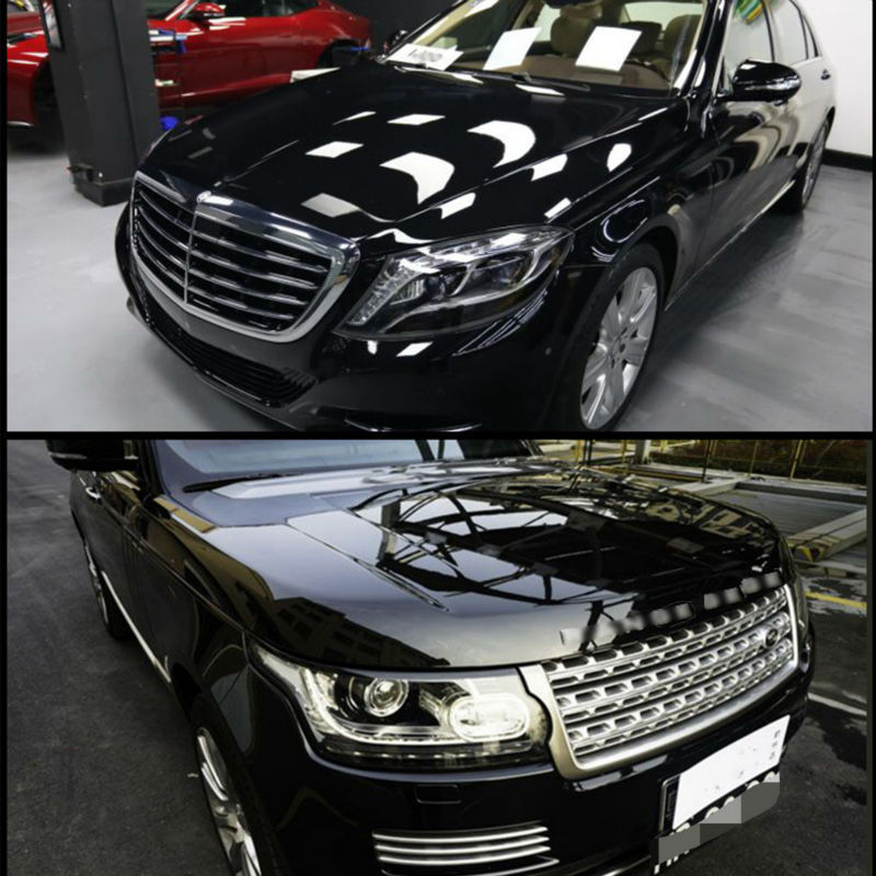New car paint protection vinyl film wrap sticker clear transparent 2 layer car body film 1 52