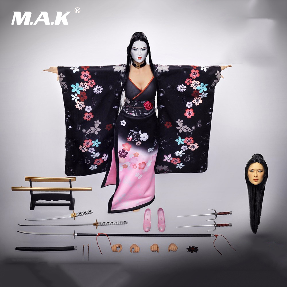 1 6 Scale Asia Version Female Action Figure Kimono Girl Model New Toys Phicen Pl2014 71b Shikids Collections