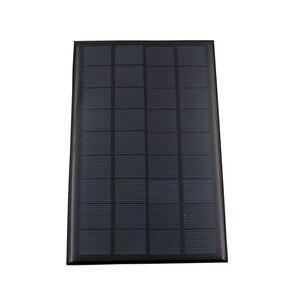 Image 2 - 9V 3W 330mA GÜNEŞ PANELI taşınabilir Mini Sunpower DIY modülü paneli sistemi için güneş lamba pili oyuncaklar telefon şarj cihazı güneş hücreleri