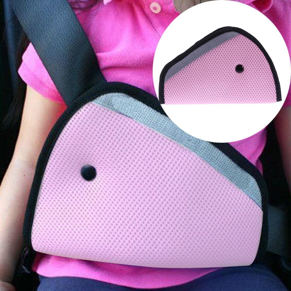 Automobile Safety Seat Belt Adjuster Car Shoulder Protection Cover Auto Safety Belt Device Car Seat Cover