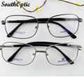 Мода Высокое качество металл весь рим рамки мужчины женщины мужская дизайн бренда большой размер очки близорукость пресбиопии очки для чтения 8823
