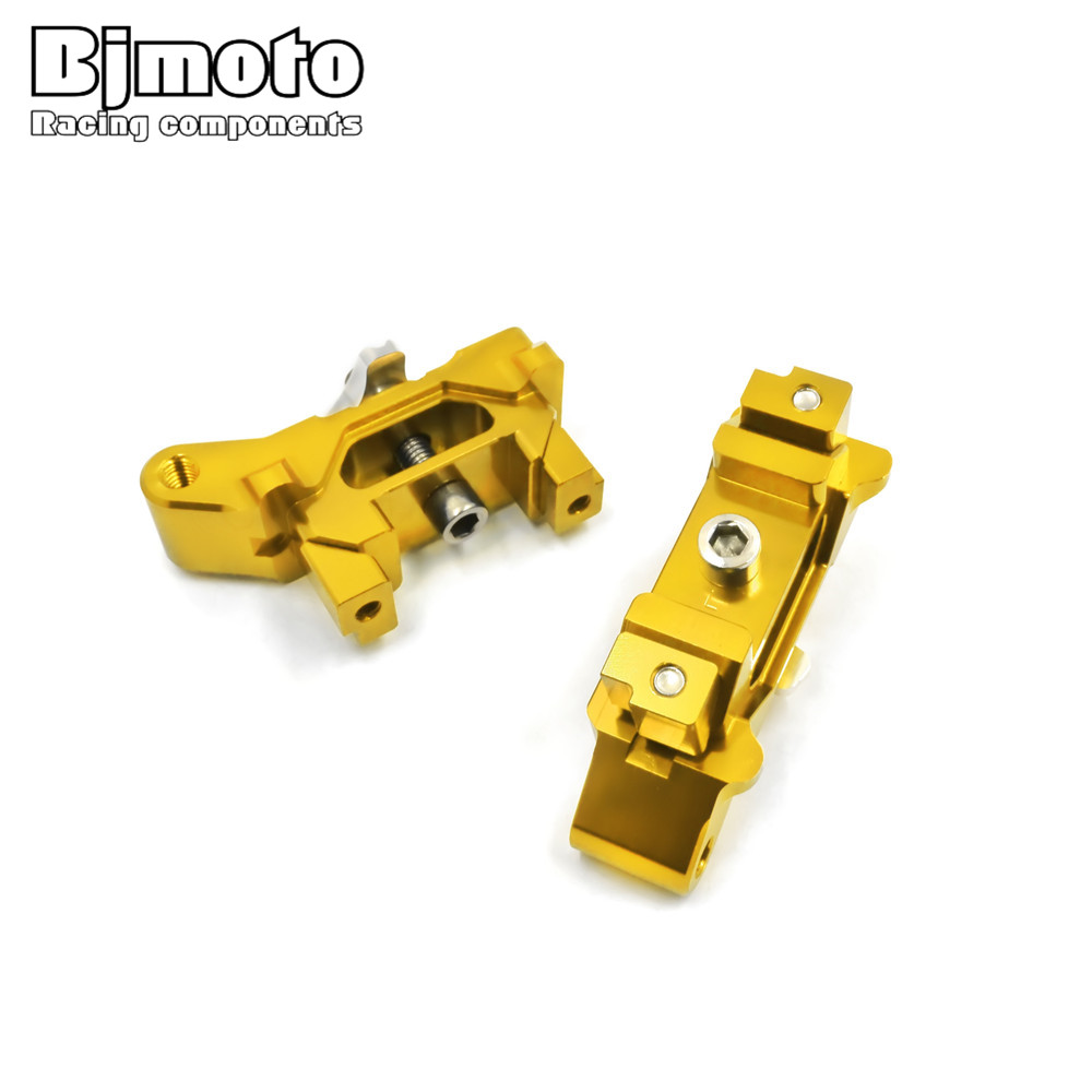 MT07 One Pair Motorcycle CNC Rear Axle Spindle Chain Adjuster Blocks for Yamaha MT-07 2013-2016 FZ-07 2015-2016