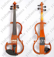 Yinfente New Yellow 4 4 Electric Violin Silent Wonderful Tone Any Color