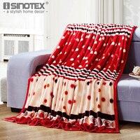 Home Textile Plaid Solid Air Sofa Bedding Throws Coral Flannel Blanket 120 150 180 200cm 200