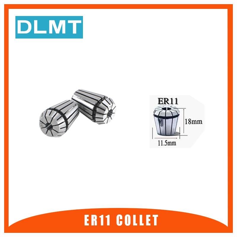 1pcs ER11 1/1.5/2/2.5/3mm 1/8 Inch(3.175mm) 4/5/6/7/8mm Spring Collet Chucks Tool Holder For CNC Engraving Machine&Milling Lathe(China)