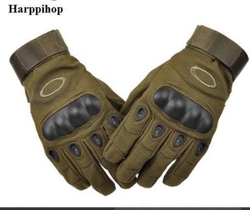 OK ブランド軍自転車屋外の戦術的な手袋 Sprots ジムアームバンドケースペイントボールエアガン指なしハードカーボンナックルハーフフィンガー手袋