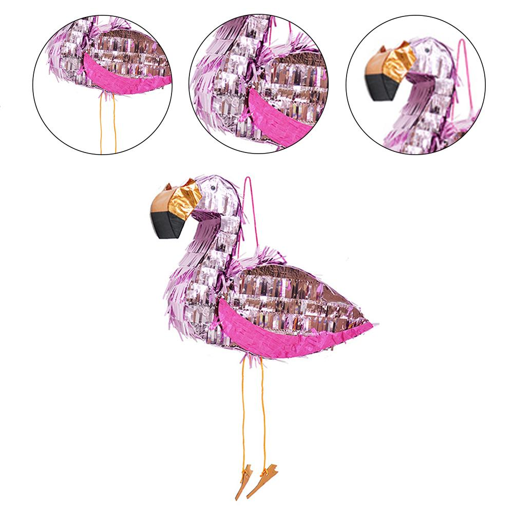 Flamingo Pinata Children Birthday Party Supplies Foil Pinata Props Party Decoration Festive Party Supplies