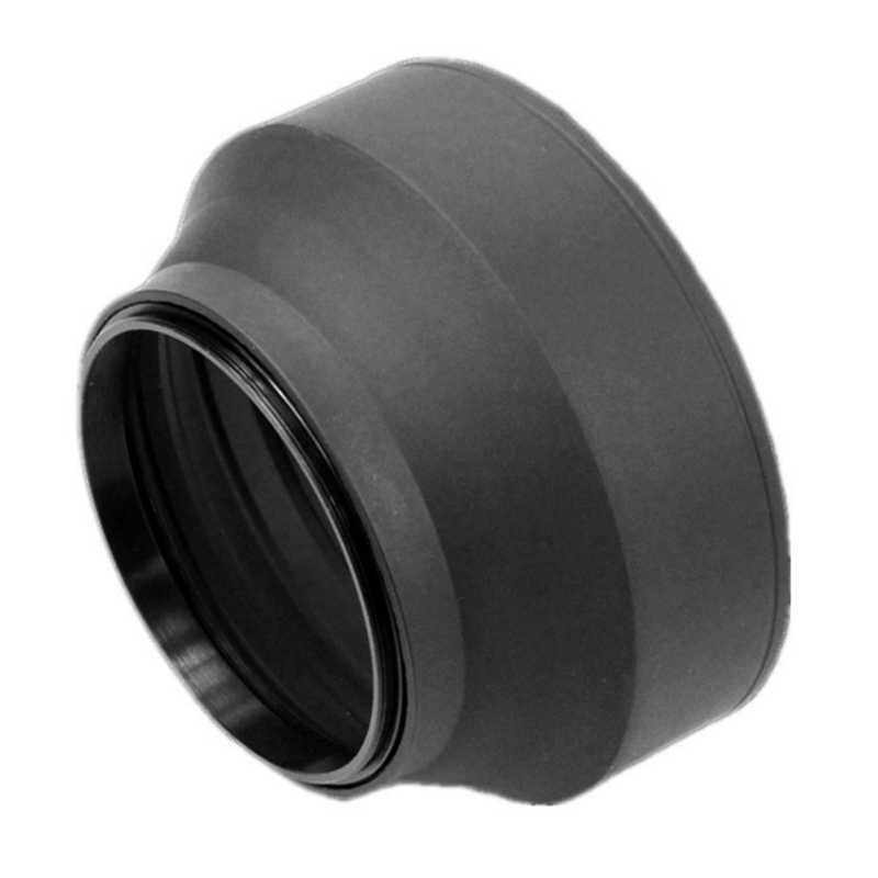 Gadget Place Professional 3-Stage Collapsible Universal Rubber Multi-Lens Hood for Canon EF-S 18-55mm f//3.5-5.6 is