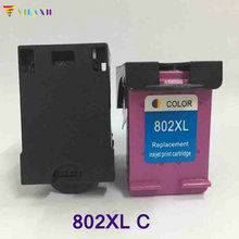vilaxh Tri-color For HP 802 Ink Cartridge 802xl Deskjet 1000 1050 2050 1510 1010 2000 3050 J110a J210a J410a J510a J610a
