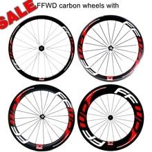 7a57dfb7bd0 Darktec Road Bike 38/50/60/88mm ruedas carbono carretera bicycle FF carbon  wheel
