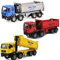 KAIDIWEI Diecast Metal Propinas Vagón Camión Juguetes Para Los Chidlren, aleación 17 cm Ocho Camiones Ingeniero de Colección de Coches de Juguete/Brinquedos