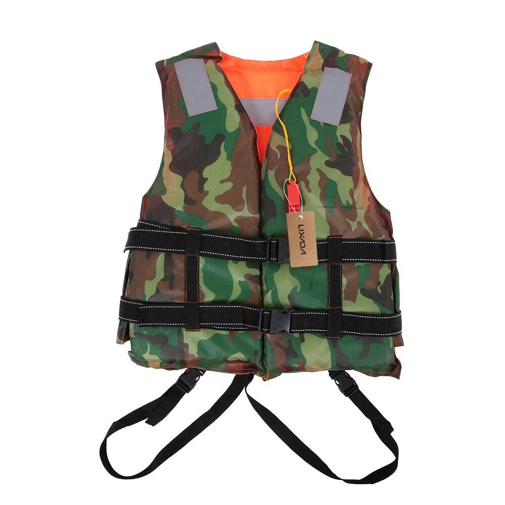 Lixada adulto salvavidas Reversible chaleco salvavidas ropa natación Vida Marina chaquetas flotabilidad flotación dispositivo