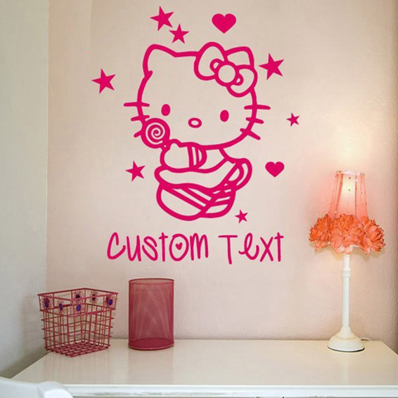 New font b Custom b font font b made b font Cartoon children s room decorative