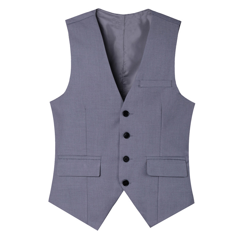 2017 Herrenbekleidung 4 Tasten Blazer Sleeveless Westen Slim Fit Männlichen Westen Formelle Anzüge Weste Plus Größe M-3xl Mq220 Direktverkaufspreis