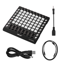 Drum-Pad-Controller 3-Specifications WORLDE Usb Midi Usb-Cable Portable with Slider Backlight-Pad