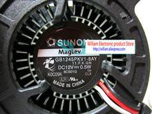 Originele Sunon GB1245PKV1-8AY 12V 0.5W 4520 Projector Blower Koelventilator