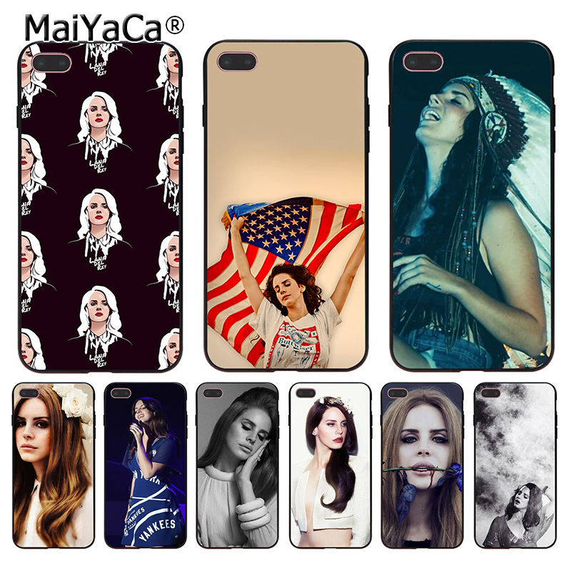 MaiYaCa Halsey Lana Del Rey Music Singer Coque Phone Case for iphone 11 Pro XR XS