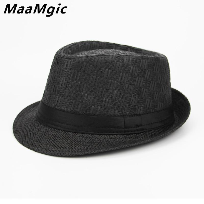 2e7507d0871 New 2018 England Style Men Fedora Jazz Hat Men Vintage Winter Hat Panama Cap  Spring Summer