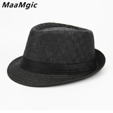 New 2018 England Style Men Fedora Jazz Hat Men