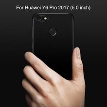 Case For Huawei Y6 Pro 2017 Case 5.0 inch Luxury Matte Silicone Soft Cover For Huawei Y6 Pro 2017 Phone Case Y6Pro 2017 Cover