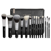 YAVAY Brand 15 PCS Makeup Brush Set Professional Make Up Beauty Blush Foundation Contour Powder Cosmetics