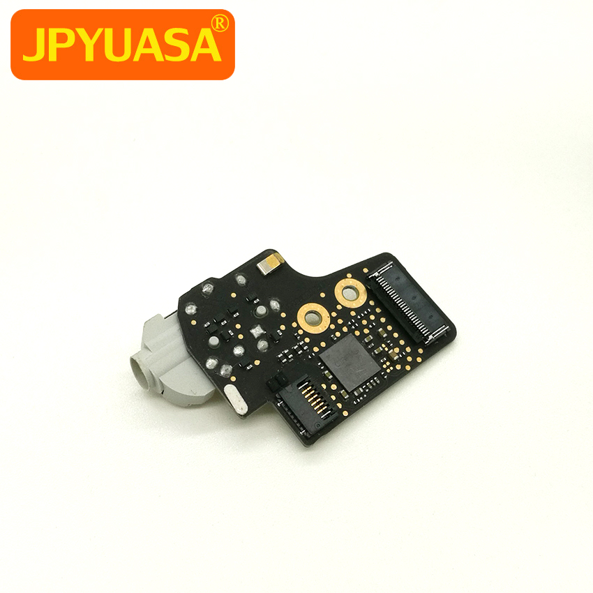 Laptop Audio I/O Board Headphone Earphone Jack For Macbook 12 A1534 2015 2016 White for macbook air usb i o audio board 820 3213 a 11 laptop a1465 power dc jack md223 md224 2012